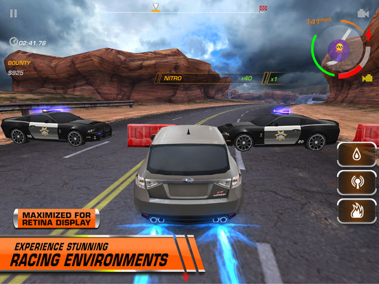 Need for Speed  Hot Pursuit for iPad Screenshot
