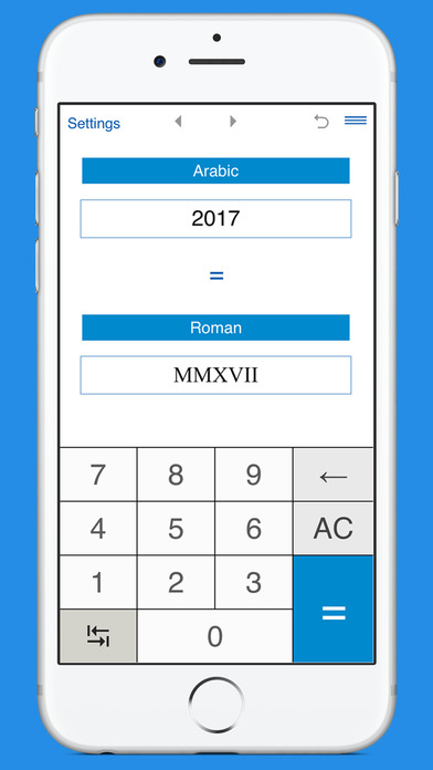 How to type roman numerals on iphone keyboard