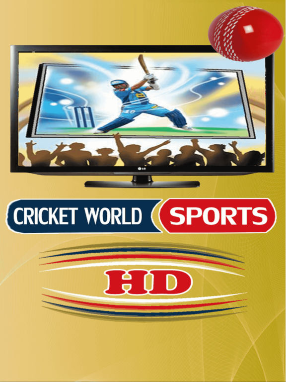 Cricket World Sports HD T20, ODI, TEST ALL Sports-ipad-0