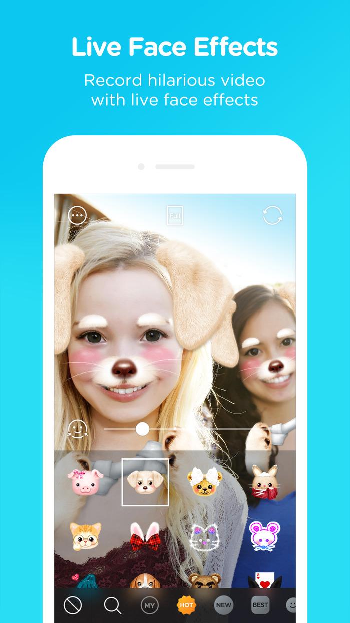 SNOW - Selfie, Motion sticker, Fun camera Screenshot