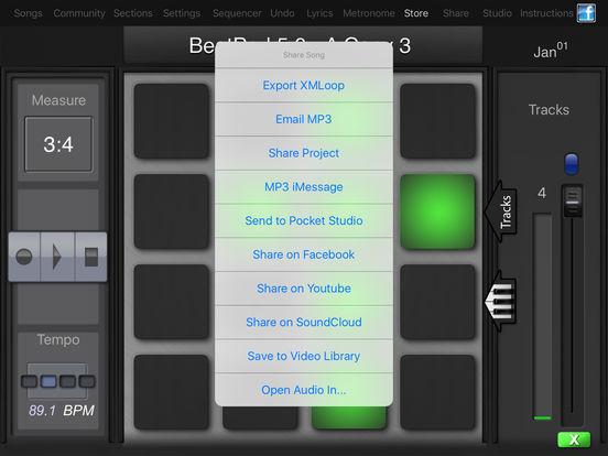 BeatPad Screenshots