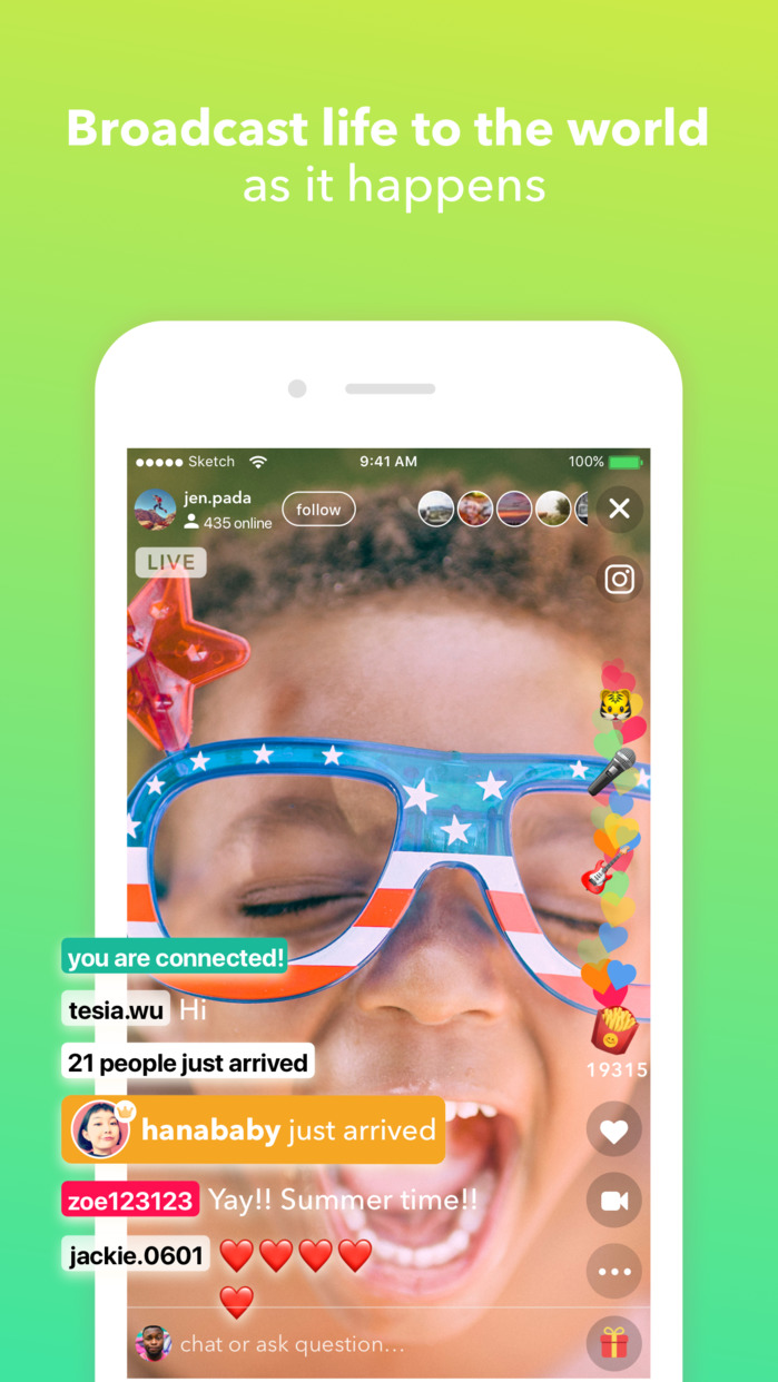 live.ly - live video streaming Screenshot