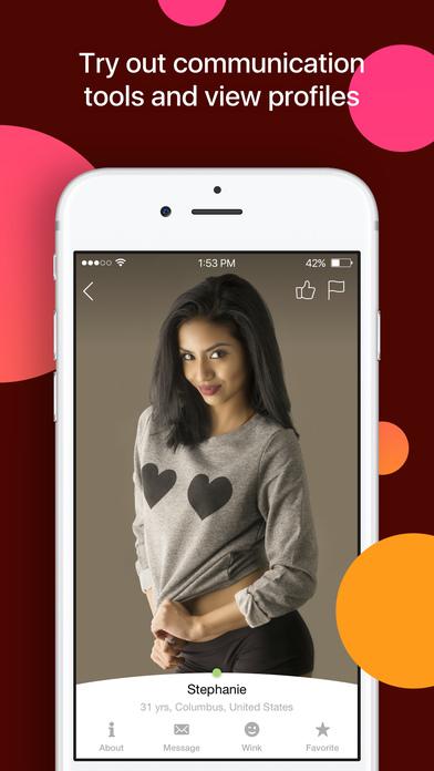Latina online dating app