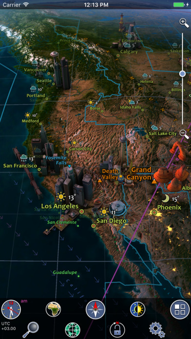 Earth 3D - Amazing Atlas for iPhone Screenshots