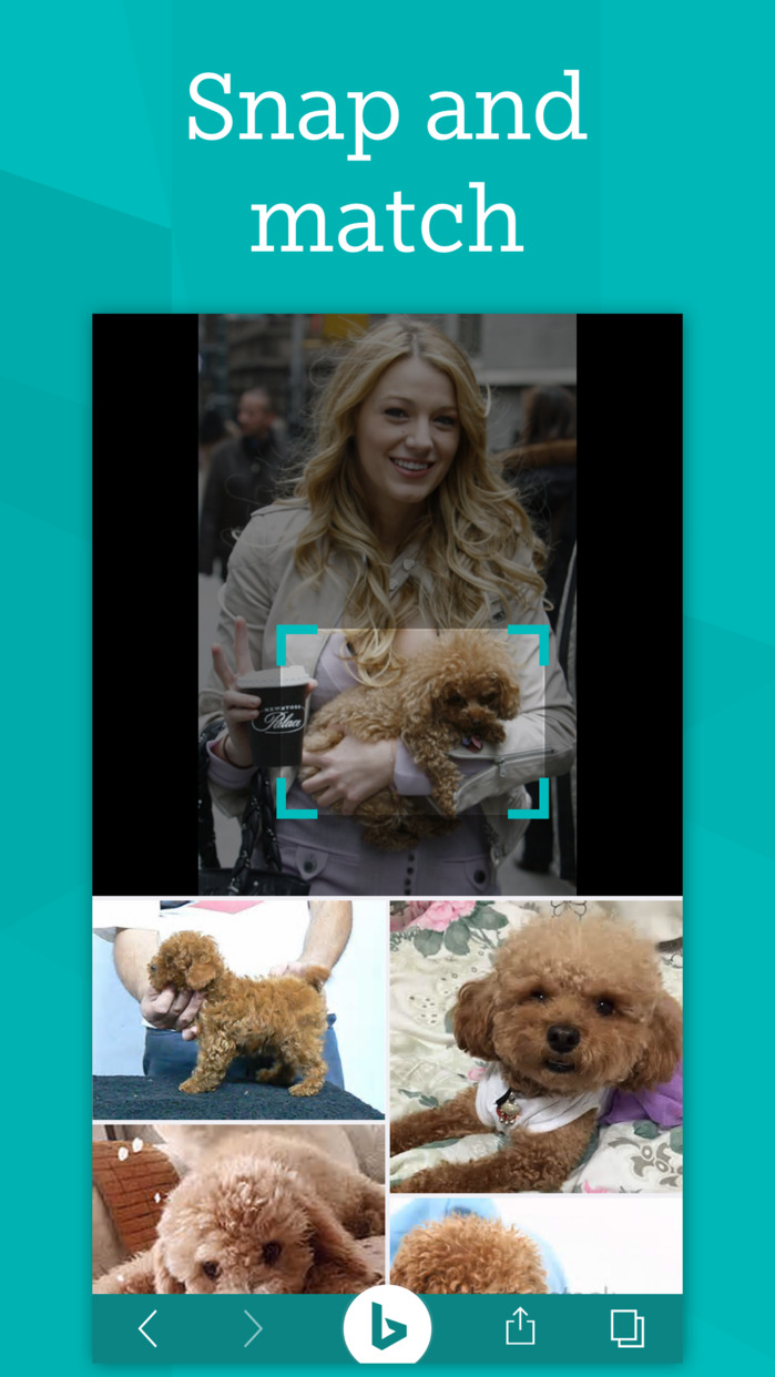Bing – Fast and beautiful mobile search engine Screenshot