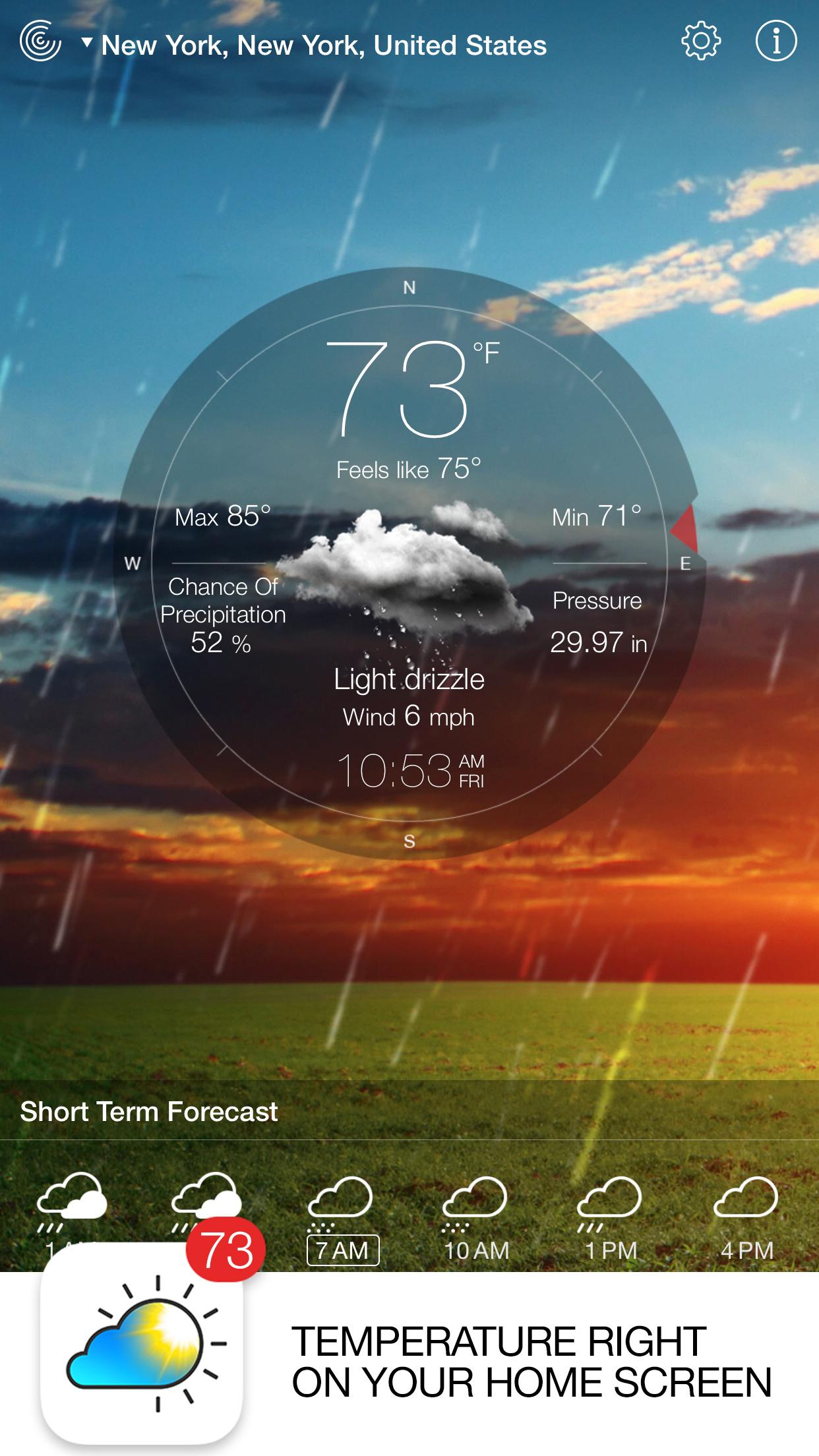 Weather Live - Weather Forecast & Alerts Screenshot