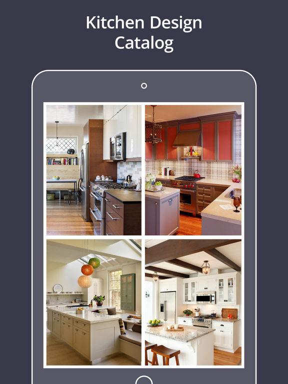App shopper best modular kitchen design catalog shopping - Best kitchen design app ...
