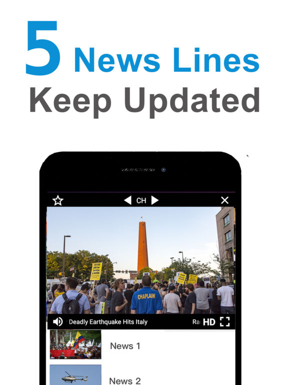 TV App: Watch News, Movies, TV Shows IPA Cracked for iOS Free Download