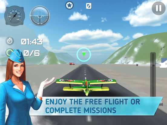 Aircraft Flight 3D – Airlines Sim PRO IPA Cracked for iOS