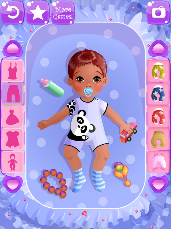 Baby Bedroom Dress Up Games: App Shopper: Baby Dress Up