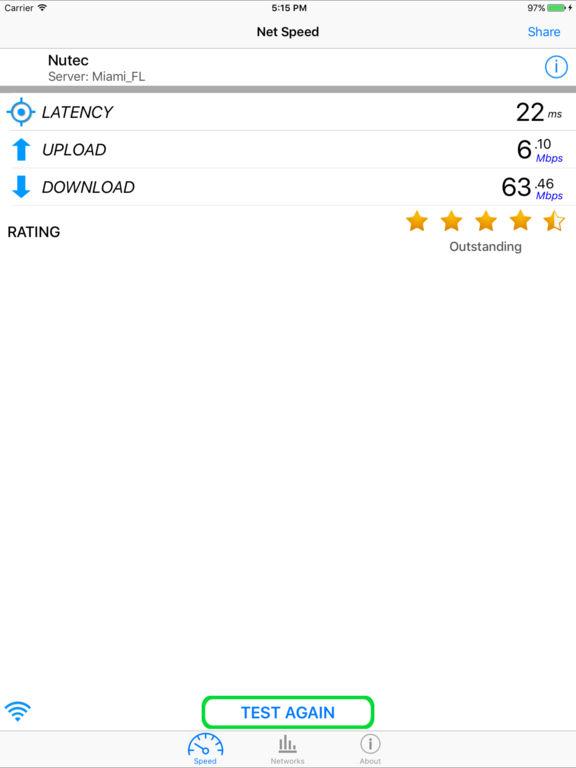 Net Speed Pro - Mobile Internet Performance Tool Screenshots