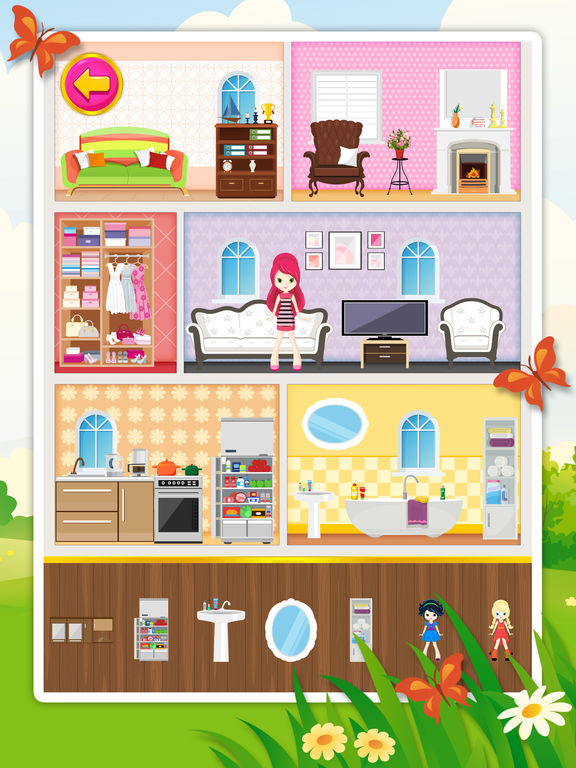 App Shopper: Doll House Decorating 2: Free Game For