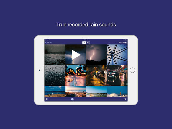 Rain Sounds - sleep and relaxation sounds IPA Cracked for iOS Free