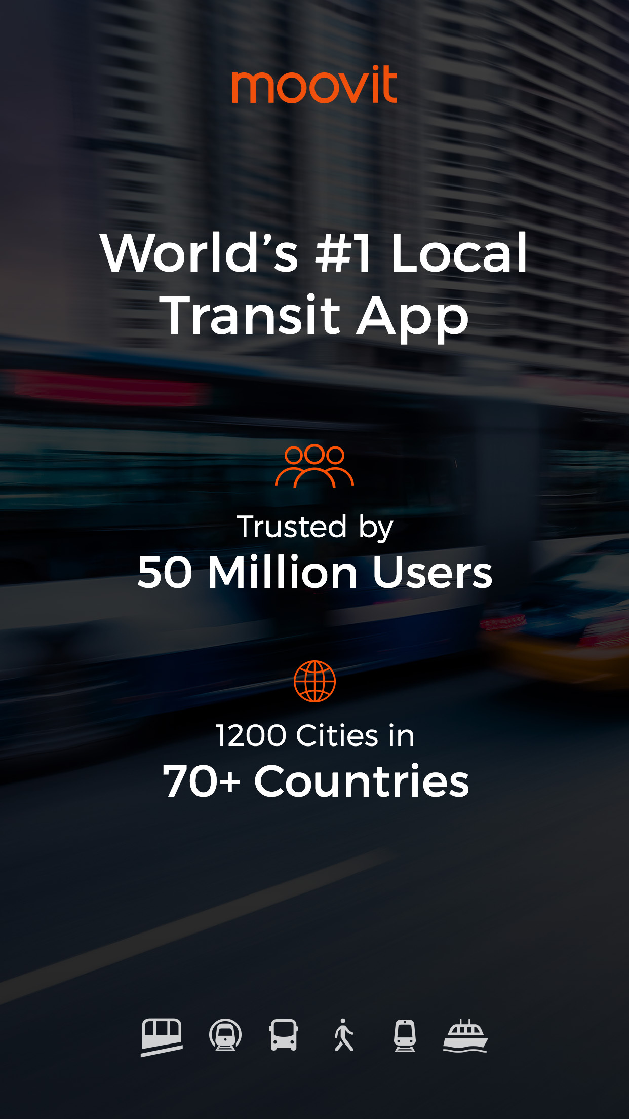 Moovit: Live Transit App For Bus, Train & Subway Screenshot