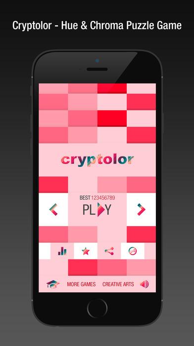 App Shopper: Cryptolor - Hue & Chroma Puzzle Game (Games)