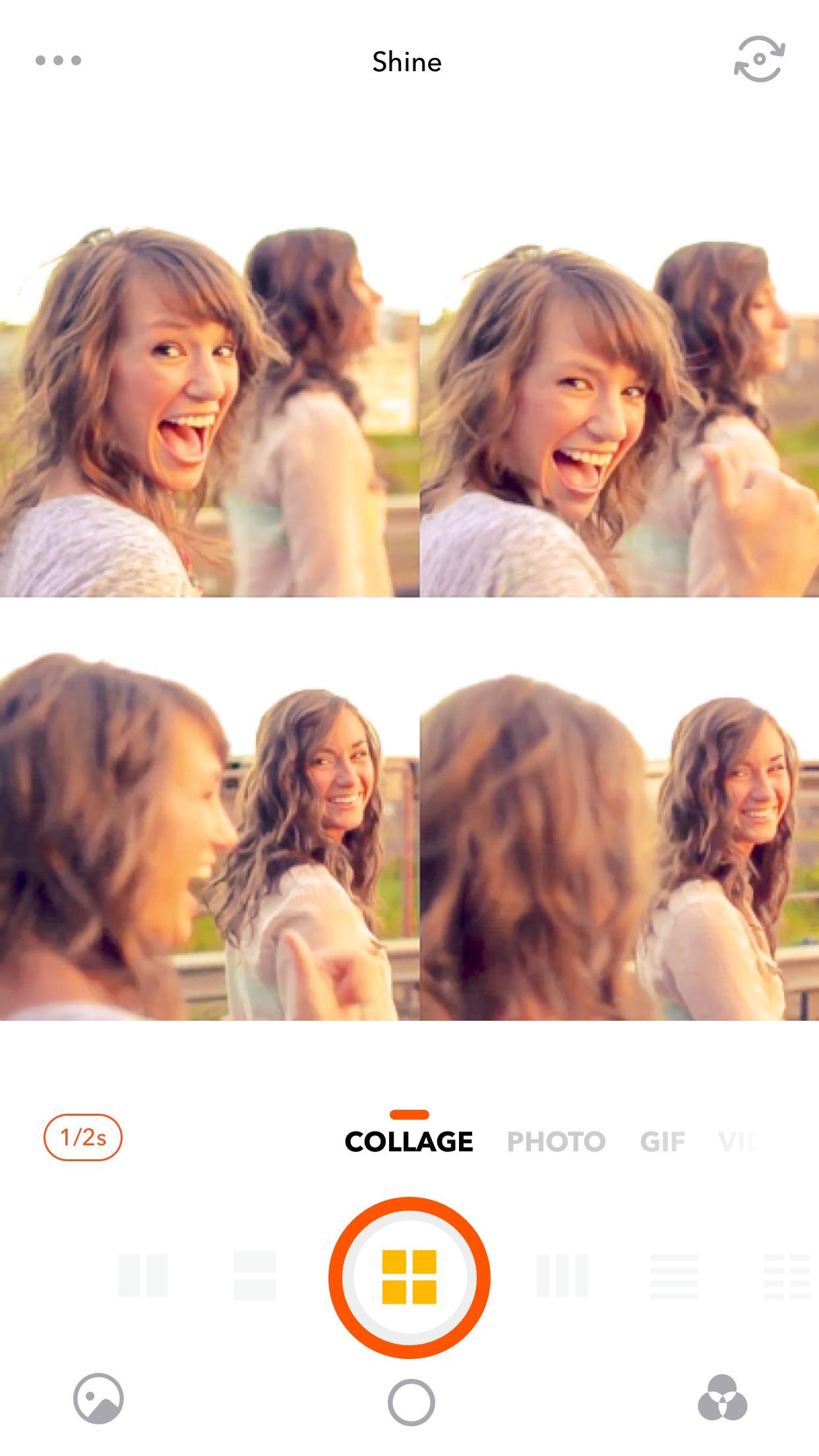 Retrica - Selfie Camera with Filter, Sticker & GIF Screenshot