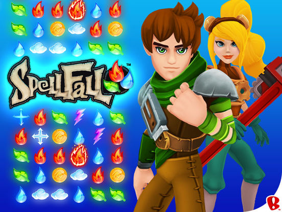 Spellfall™ - Puzzle Adventure Screenshot