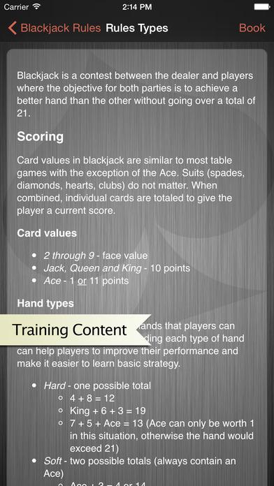 Black jack reglas de juego