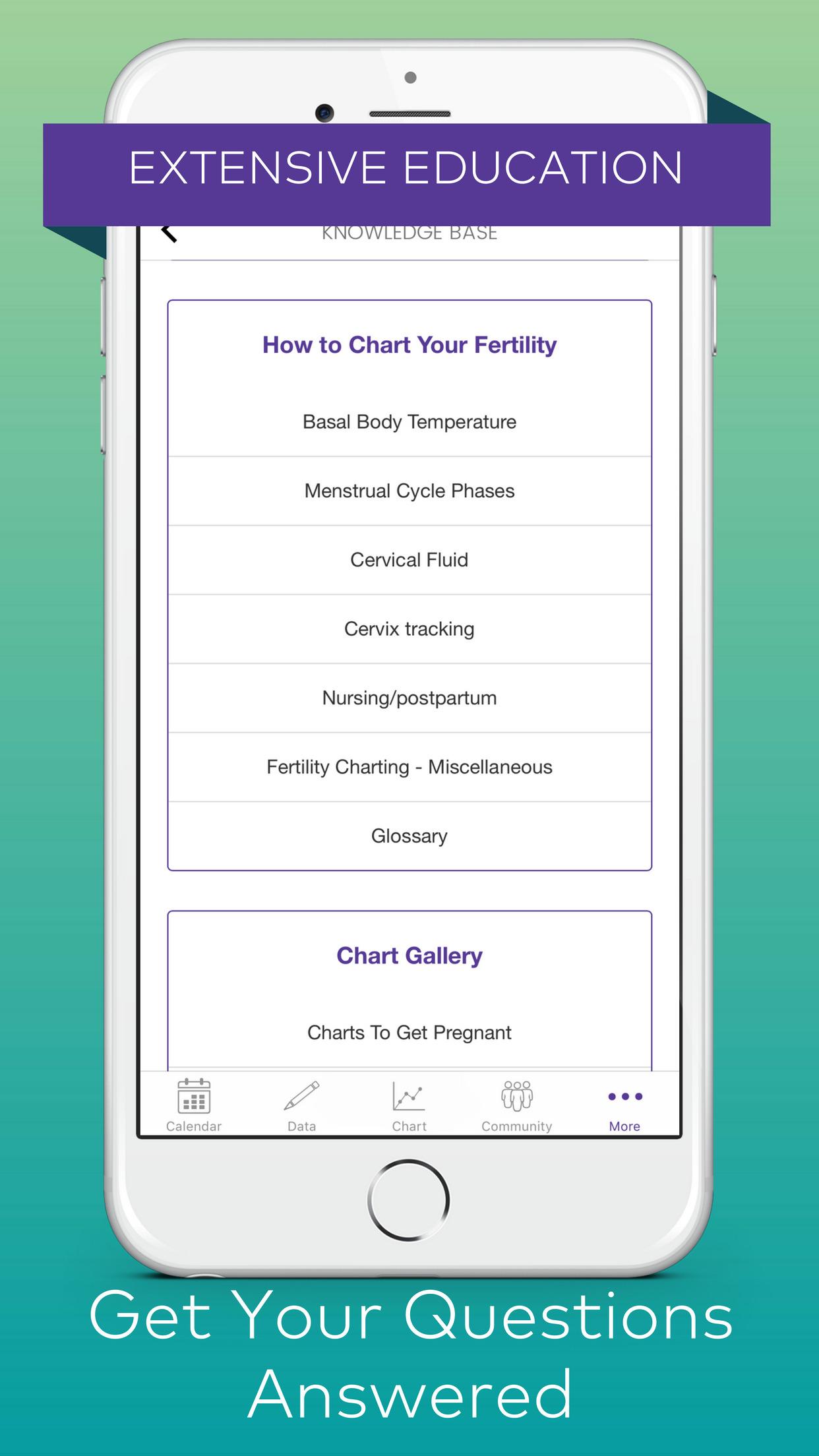 Kindara: Fertility & Ovulation Tracker, Pregnancy Screenshot
