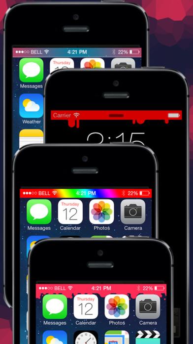 Status Art - Custom wallpaper Bar effects Screenshots