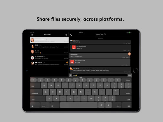 Wickr Me - Private Secure Messenger Screenshot