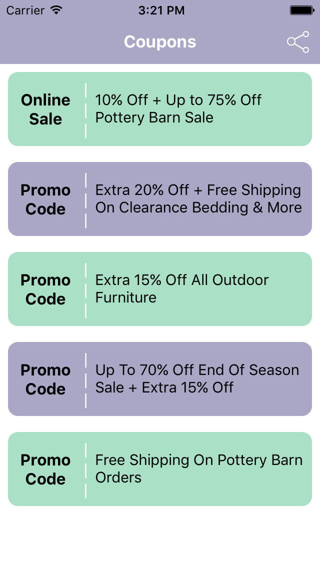 photo relating to Pottery Barn Coupon Printable named Pottery barn home furniture coupon code 2018 - Pizza hut coupon