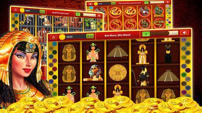 Pharaoh Slots Machine - Free Casino Game Screenshot on iOS