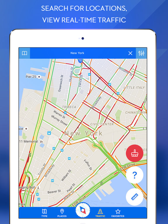 GPS Navigation for Google Maps-ipad-2
