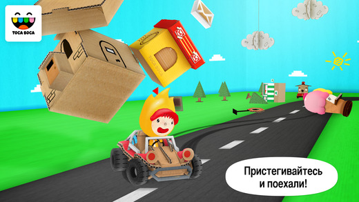 Toca Cars Screenshot
