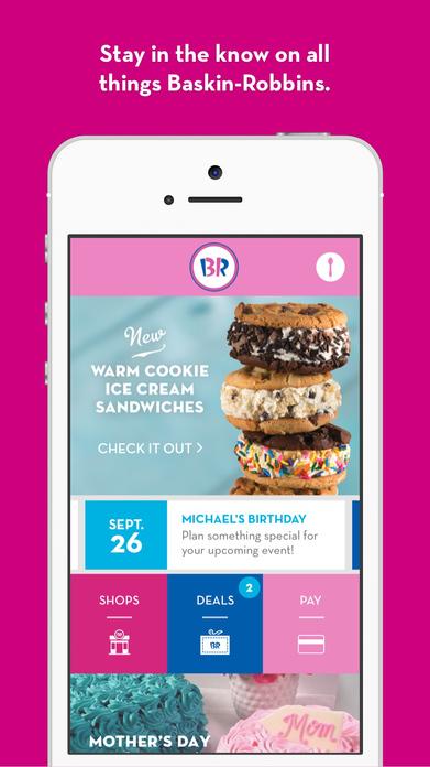 Baskin-Robbins Screenshot