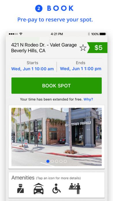 SpotHero - Find Parking Deals Nearby Screenshot