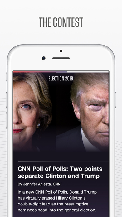 CNN Politics: Election 2016 data, news and video Screenshot