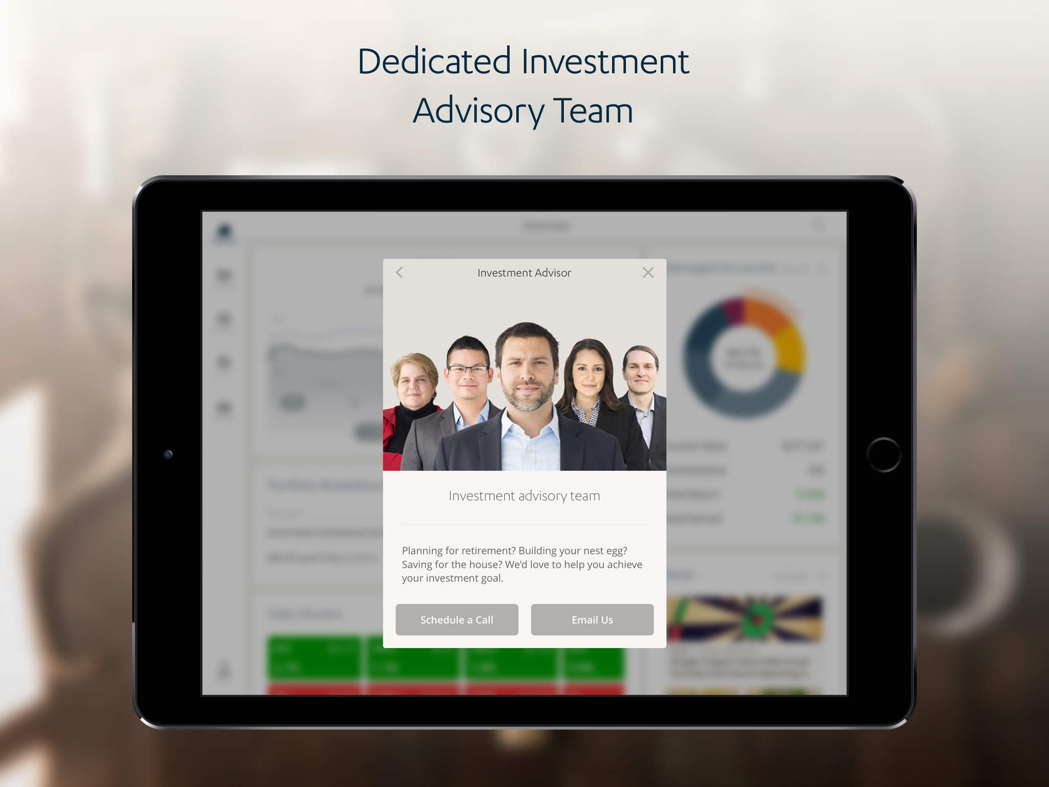 SigFig Wealth Management for iPad screenshot-4
