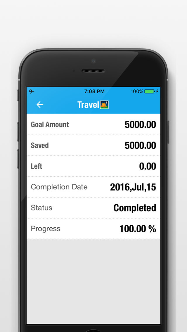 savings goals tracker saved my procket money box plan track and