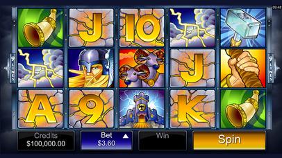 Thunderstruck Slot Machine and Free Casino Games Screenshot on iOS