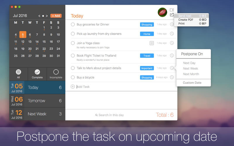 Tasky - Daily Task Scheduler for macOS with iCloud Sync - 60