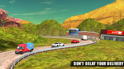 Pizza Delivery Van Simulator - City & Offroad Driving Adventure Screenshot on iOS