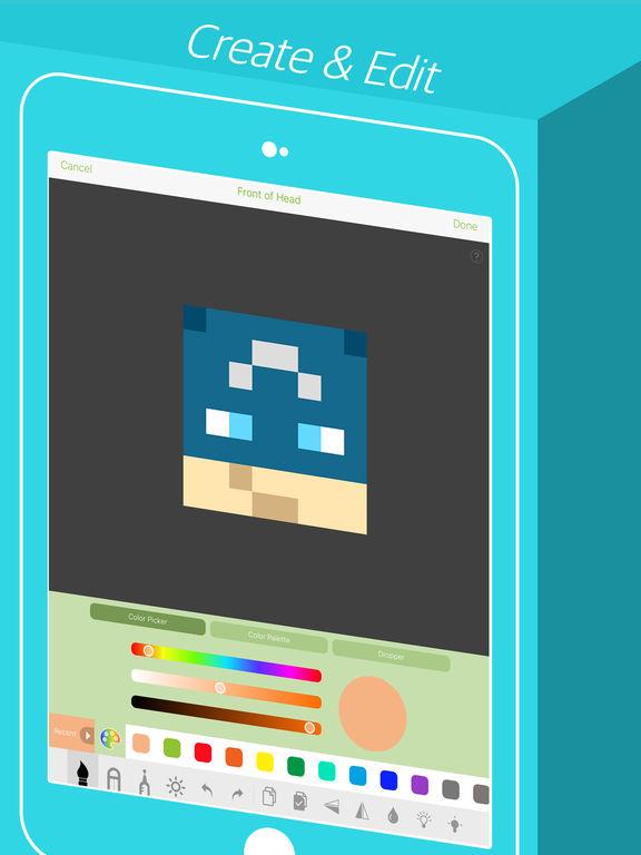Skinseed - Skin Creator for Minecraft Skins - appPicker