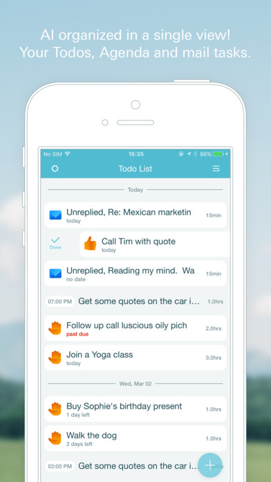 Swingdo -Todo & Calendar all in one Task Manager Screenshot