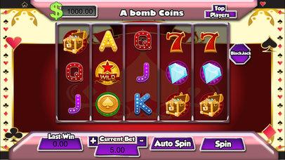 AAA 777 Bomb Casino Vega Screenshot on iOS