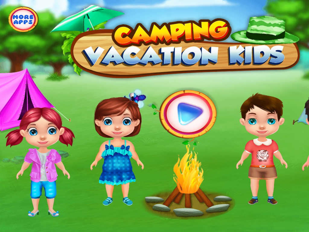 App Shopper: Camping Vacation Kids : summer camp games and ...