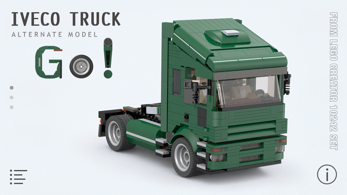 App Shopper: Iveco Truck for LEGO Creator 10242 Set - Building