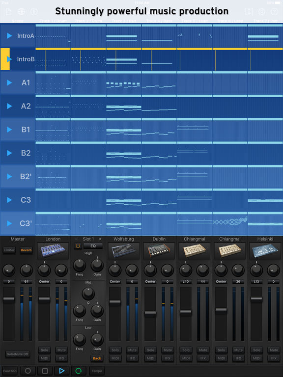 KORG Gadget Screenshot