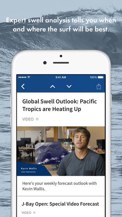 Surfline- Surf Reports, Live Beach Cams, Forecasts Screenshot
