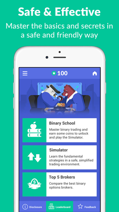 Binary School Screenshot on iOS