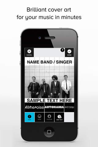 Download TAD - Music Cover Art Design app for iPhone and iPad