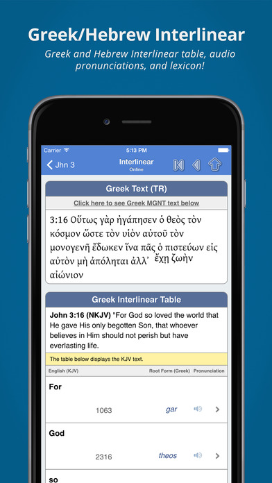 Blue Letter Bible | Free Mac Software