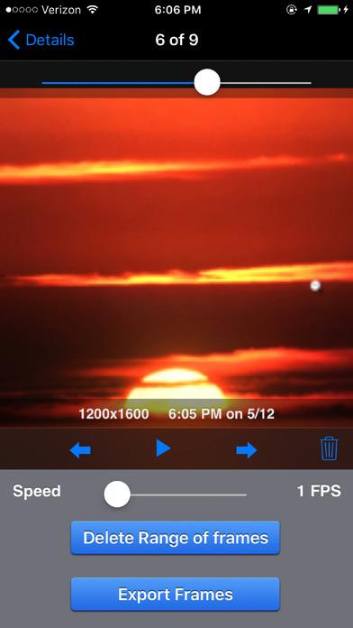 iTimeLapse Pro - Time Lapse videos Screenshots