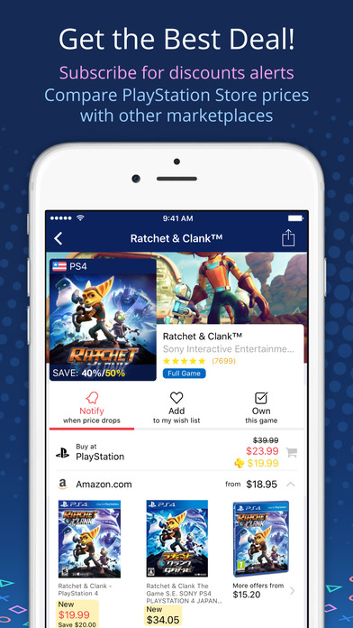 PS Deals - Price Tracker for PlayStation Store App IPA