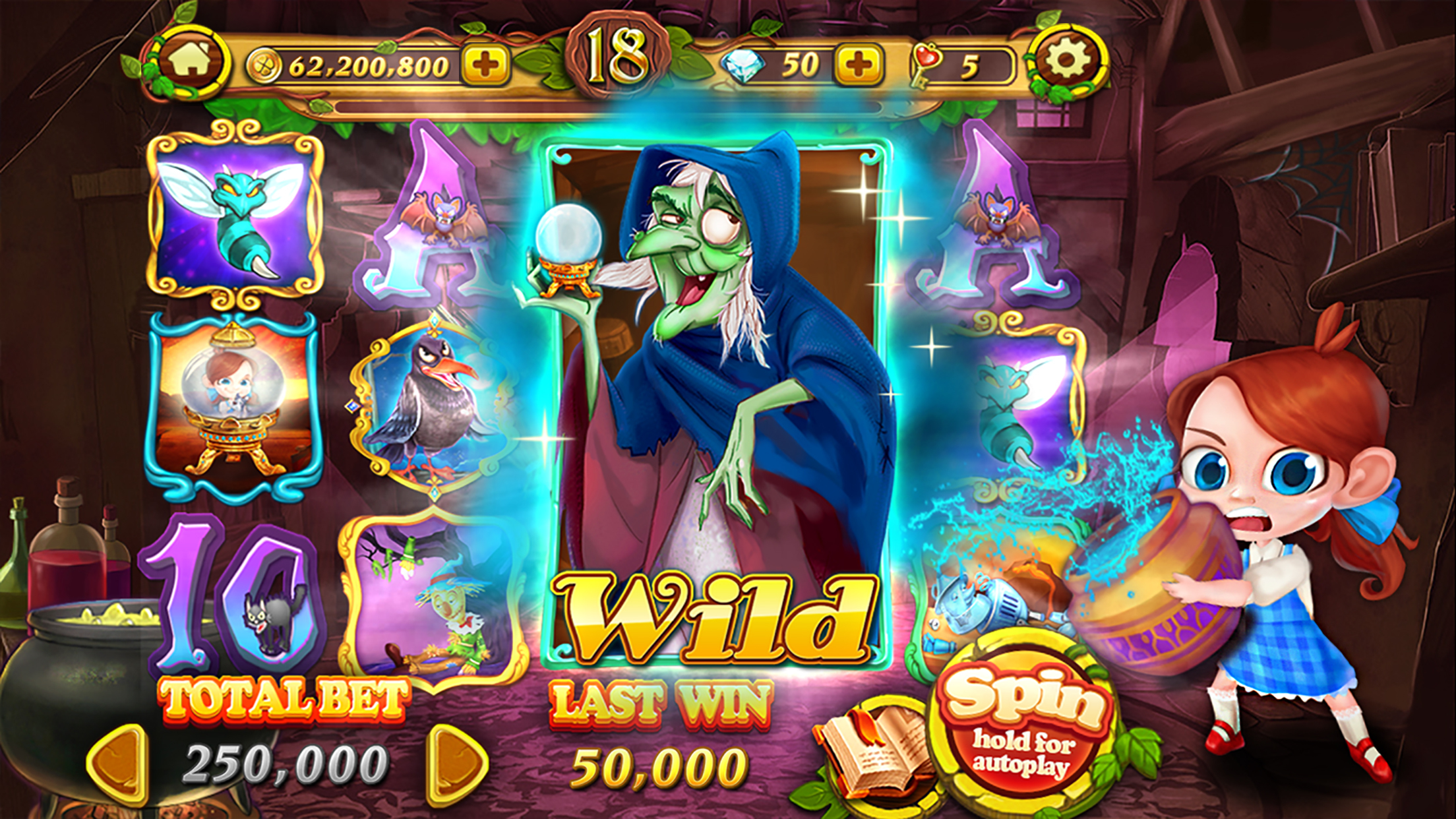 Slots in Wonderland - Las Vegas Free Slots Machines Screenshot